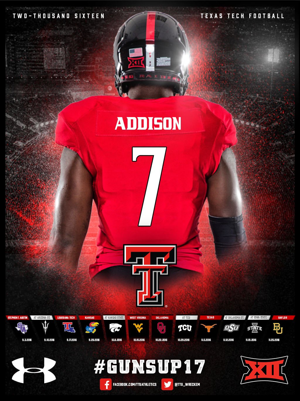 Texas Tech College Sports Graphics Texas Tech Football College Football Recruiting