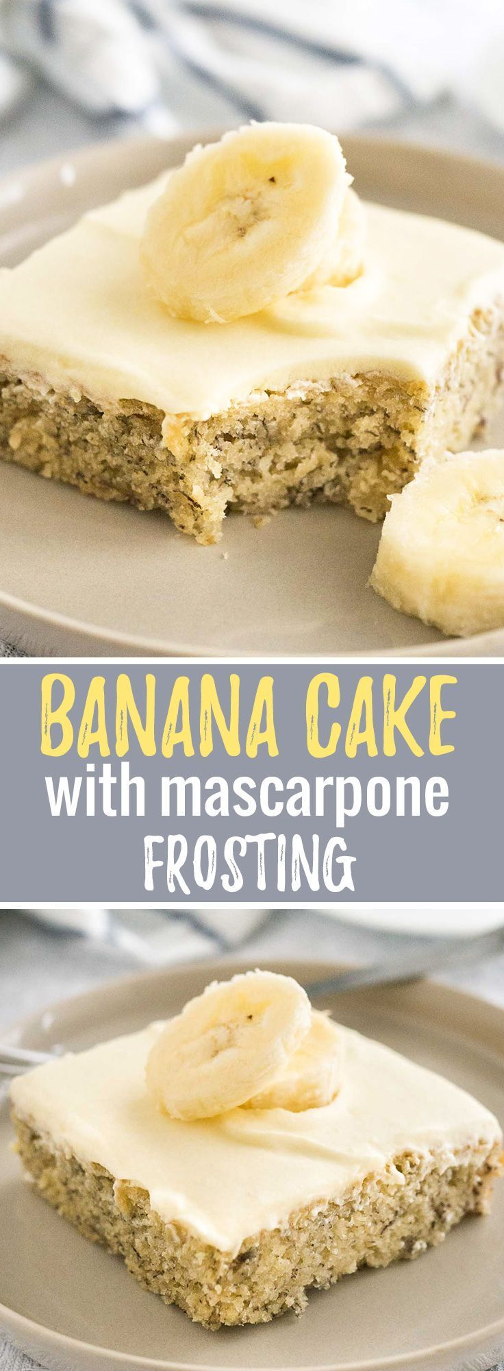 Easy banana cake this fluffy and moist sheet cake has a mascarpone all comfort food easy banana cake recipe easy banana cake recipe e forumfinder Gallery