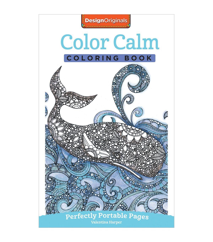 Adult Coloring Book Design Originals Color Calm