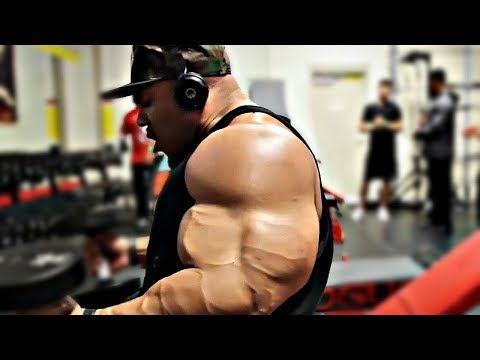 Phil Heath's ARM WORKOUT And ARM MEASUREMENT - 4 Months Before 2018 Olympia #philheath