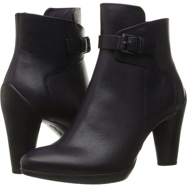 Womens Boots ECCO Sculptured 75 Mid Boot Black