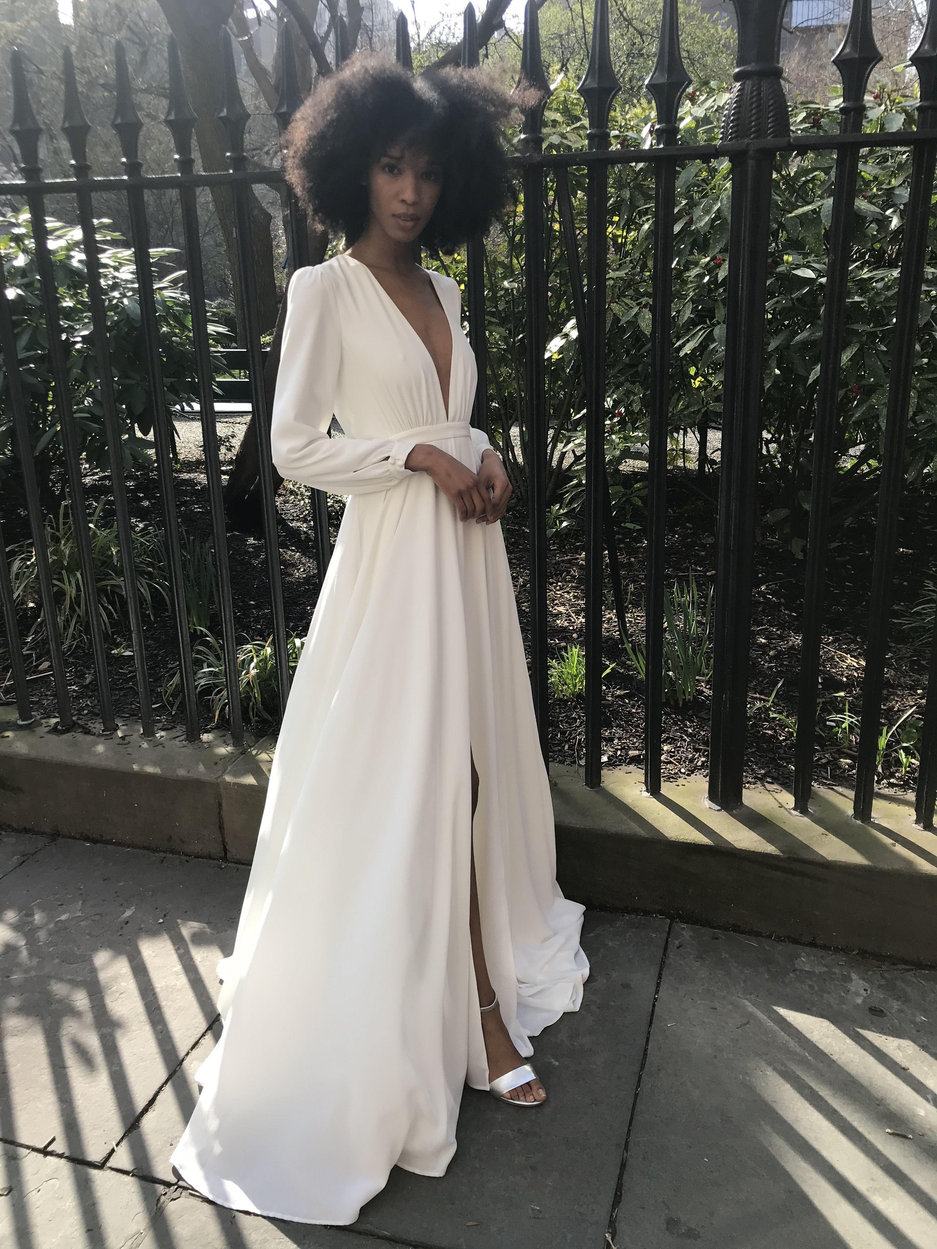 Joanna August Bridal Wedding Dress At Nordstrom Under 1000 Modern Gorgeous Wedding Dress That W Modern Bridal Dress Wedding Dresses Boho Wedding Guest Outfit [ 4032 x 3024 Pixel ]