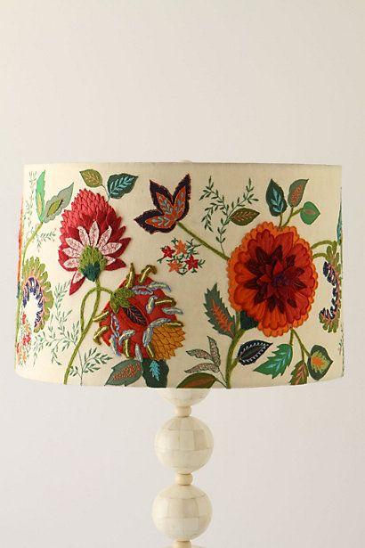 Textile Tuesday: Lampshades | Needlework, Shades and Lamp shades