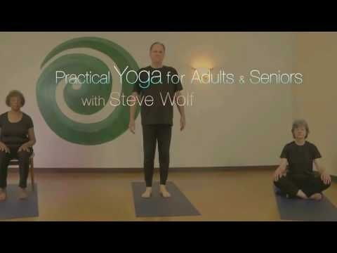gentle kripalu yoga stretch sequence  with steve wolf e