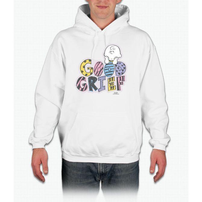 Charlie Brown Good Grief Hooded Sweatshirt