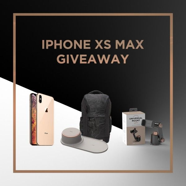 Win Apple iPhone Xs Max Giveaway by VRS Design | Sweepstakes and