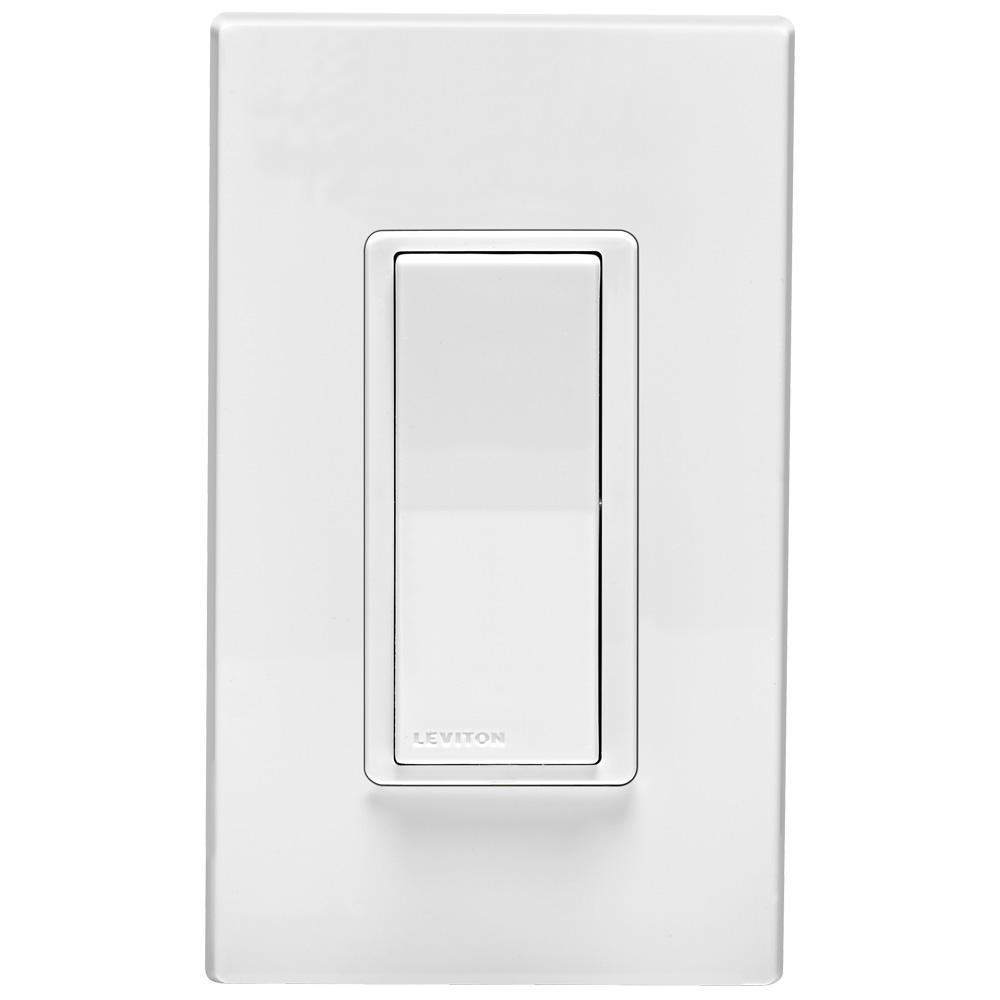 Leviton 120 277vac Dual Voltage Decora Digital Decora Smart Matching Switch Remote 3 Way Or To 4 Locations White Light Almond 001 Dd0sr Dlz Leviton Smart Dimmer Switch Smart Lighting