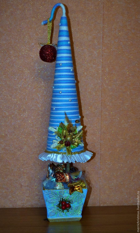 Купить Интерьерное украшение текстильная Новогодняя елочка ...