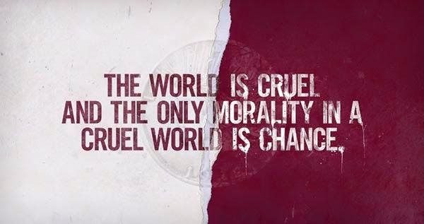 Best All In One Quotes : The world is cruel and the only morality in a crue...
