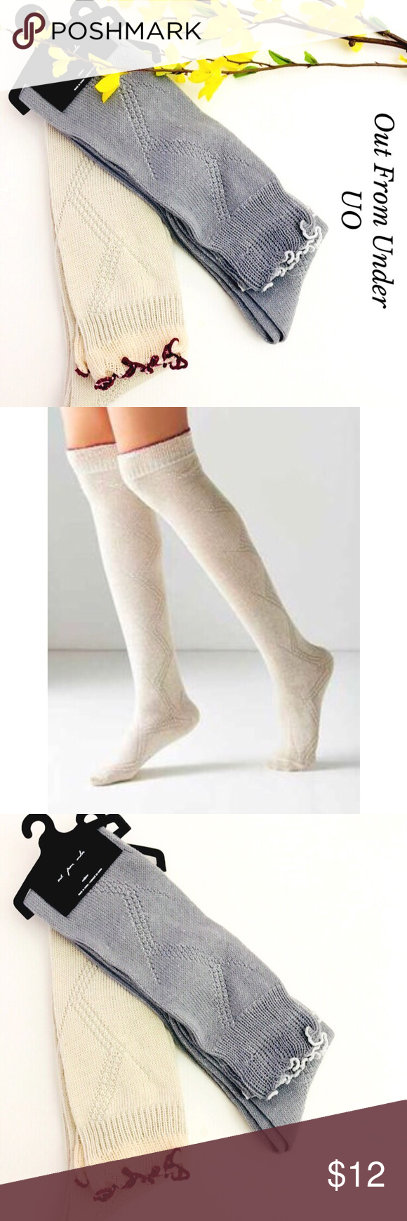 86b192d8499 URBAN OUTFITTERS OUT FROM UNDER THIGH HIGH SOCKS NWT. Gorgeous Urban  Outfitters Out From Under