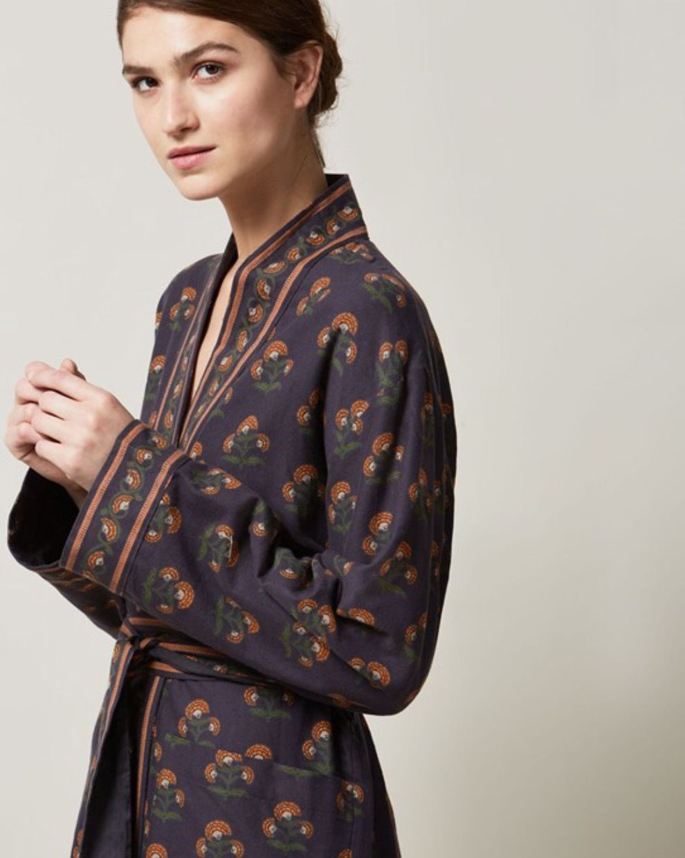 MUGHAL FLOWER FLANNEL GOWN by www.toa.st   Women Style - Fashion ...