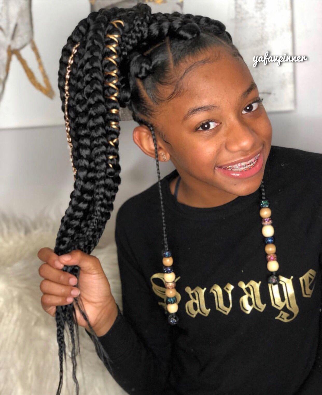 pinterest ; yafavpinner ♡  Black kids hairstyles, Kids