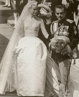 Grace Princess Of Monaco Brides Widows Pinterest Glanz