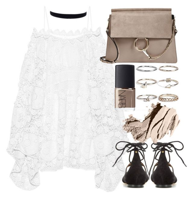 """""""Untitled #19664"""" by florencia95 ❤ liked on Polyvore featuring Chloé, Boohoo, NARS Cosmetics and Bobbi Brown Cosmetics"""