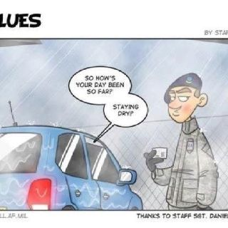 A day in the life of Security Forces  Too funny (at least for me in