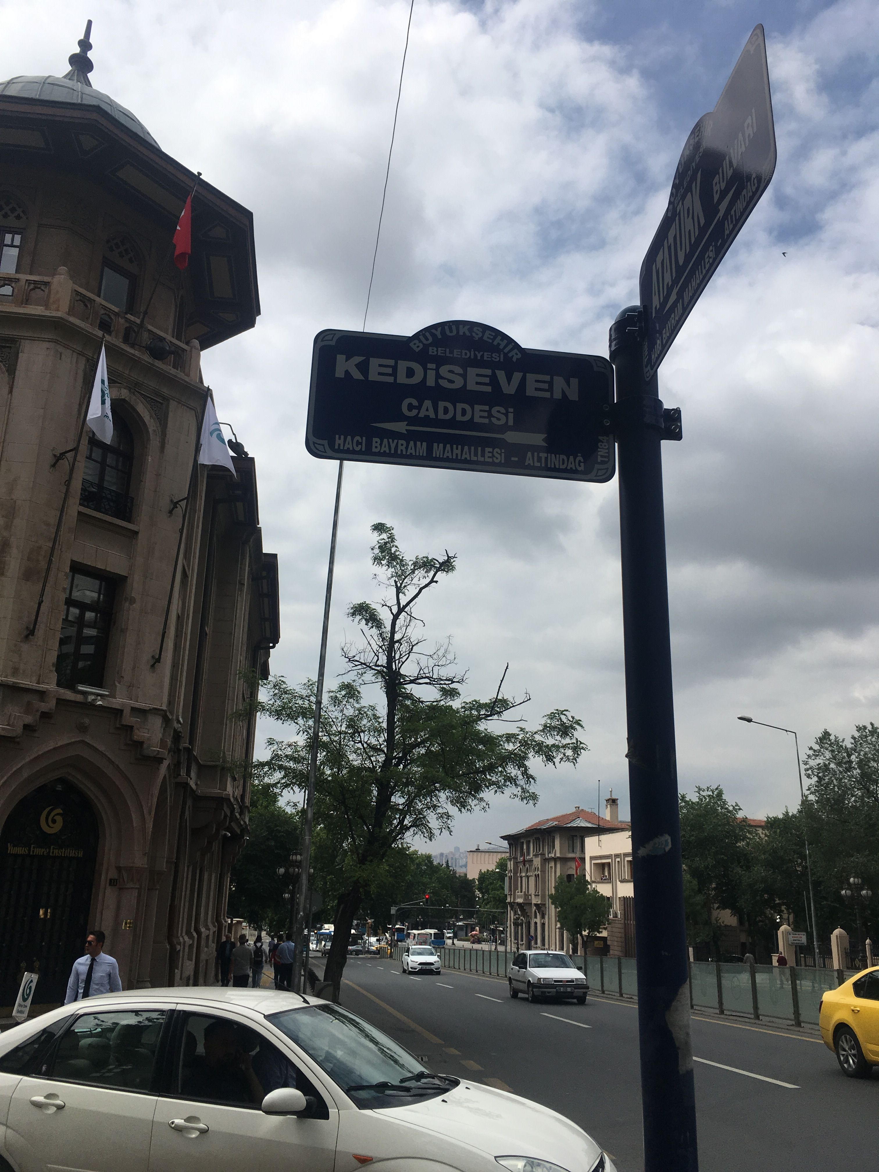 Ankara Sehir Sokak