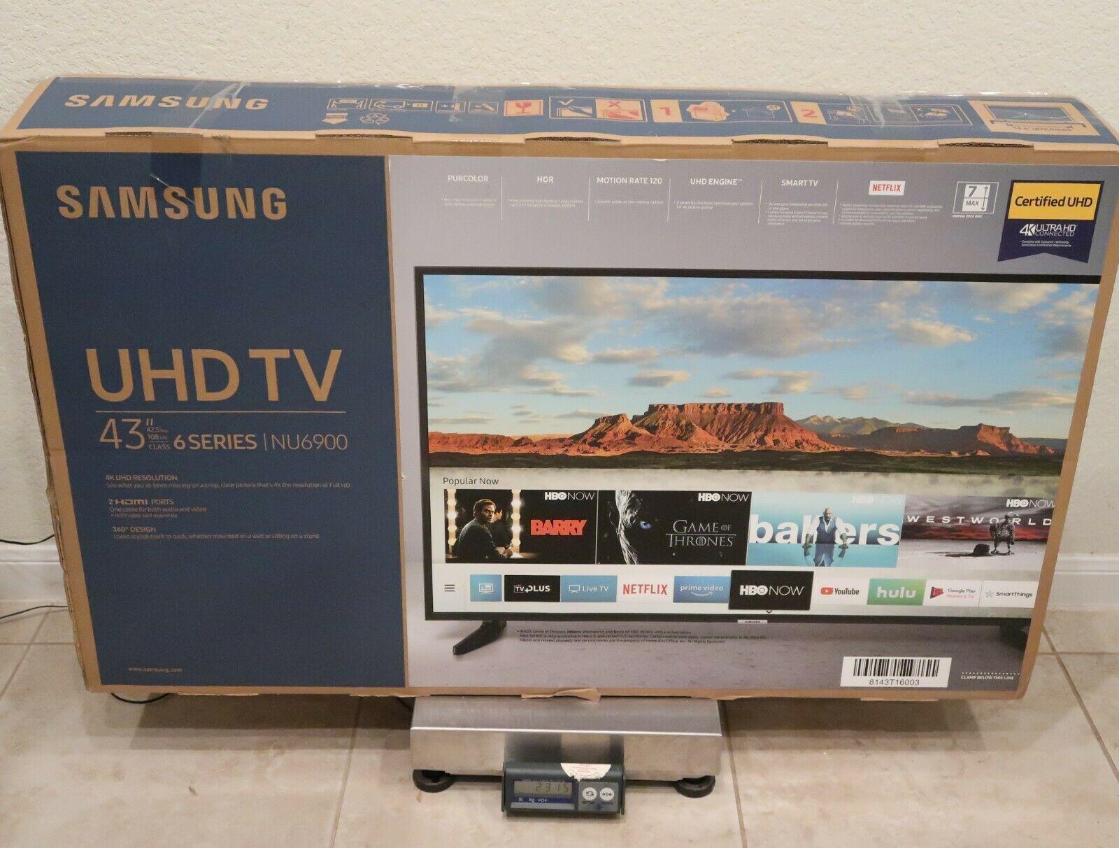 Samsung 43 Class 4k 2160p Ultra Hd Smart Led Hdr Tv Un43nu6900 Smart Tv Ideas Of Smart Tv Smarttv Led Tv Smart Tv Smart Samsung 43 smart 1080p led lcd tv