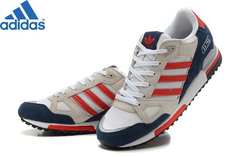 Adidas Zx 750 Soldes Adidas Zx 750 Basket Basses Bleu Navy/Blanc/Gris Clair