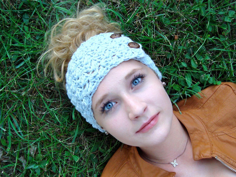 Instant Download - CROCHET HEADBAND PATTERN Jane\'s Tangled Headwrap ...