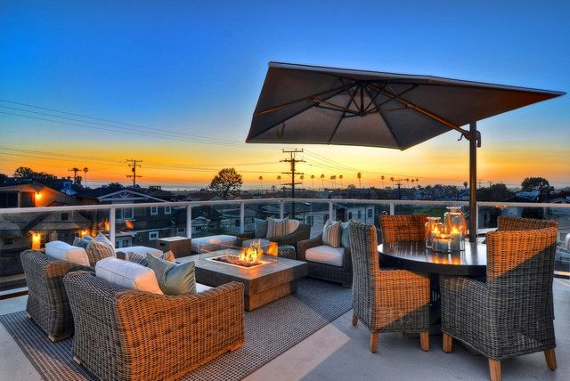 Elegant Rooftop Terrace Ideas