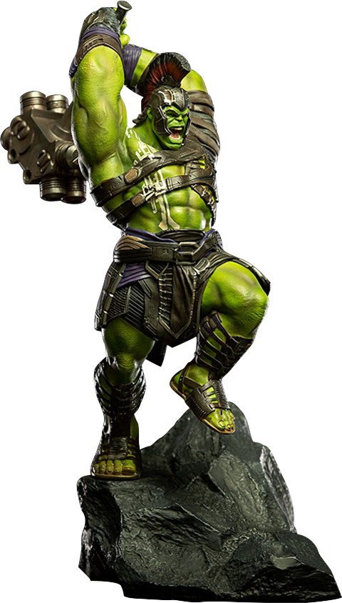 Hulk Statue Sideshow And Iron Studios Are Proud To Present
