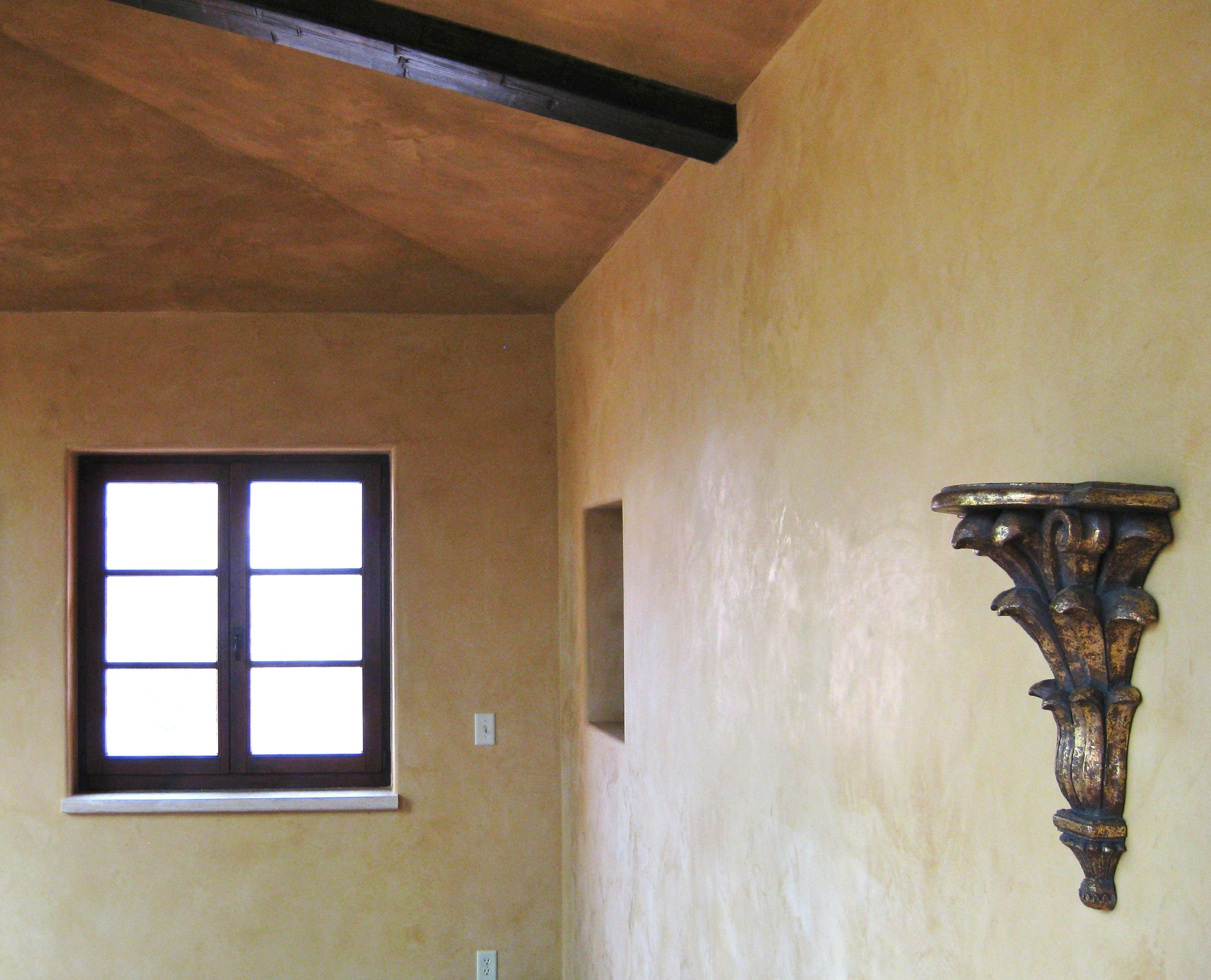 Unburnished Veneziano Plaster On Primed Drywall 2 Coats