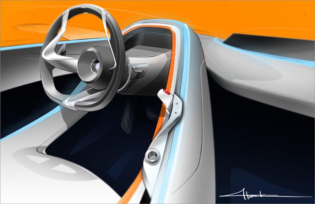 Bmw Connected Drive Concept Cars Sketch Pinterest Bmw Hand