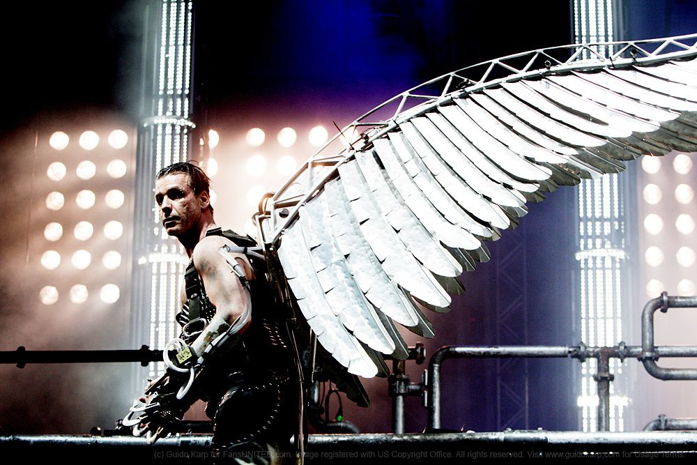 Engel ! (means Angel in German). And those wings he wears! And...it's my last name XD lol!!