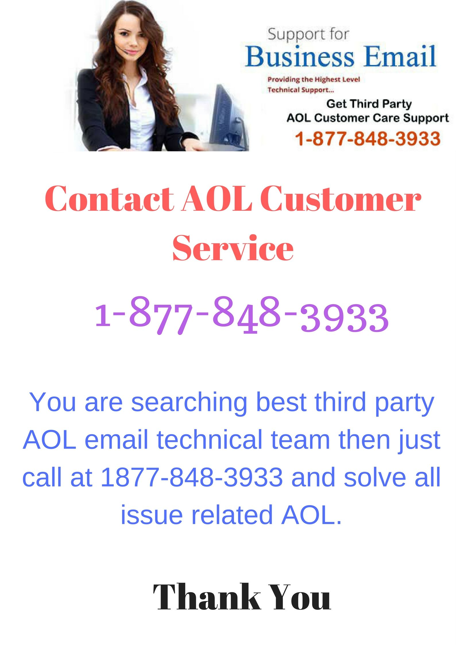 We are a third party aol technical service provider who provides