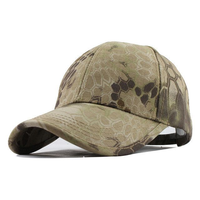 21920795 Men's Snapback Camouflage Tactical Hat Army Tactical Baseball Cap ...