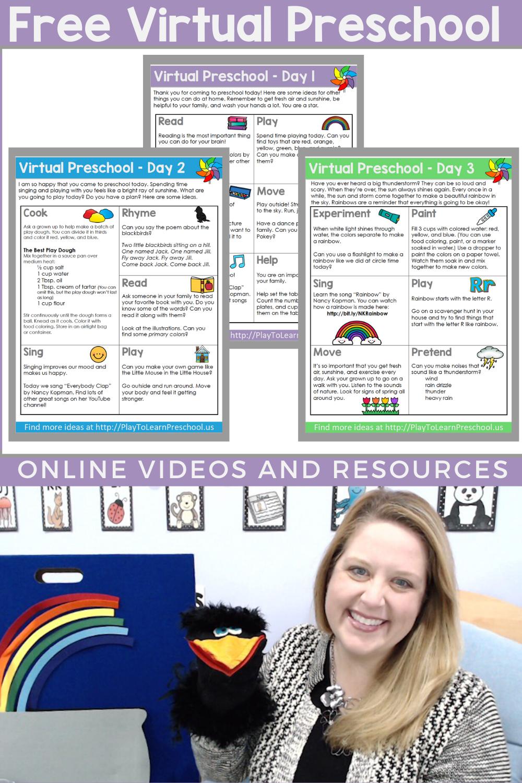 Virtual Preschool Circle Time   Preschool circle time, Online ...