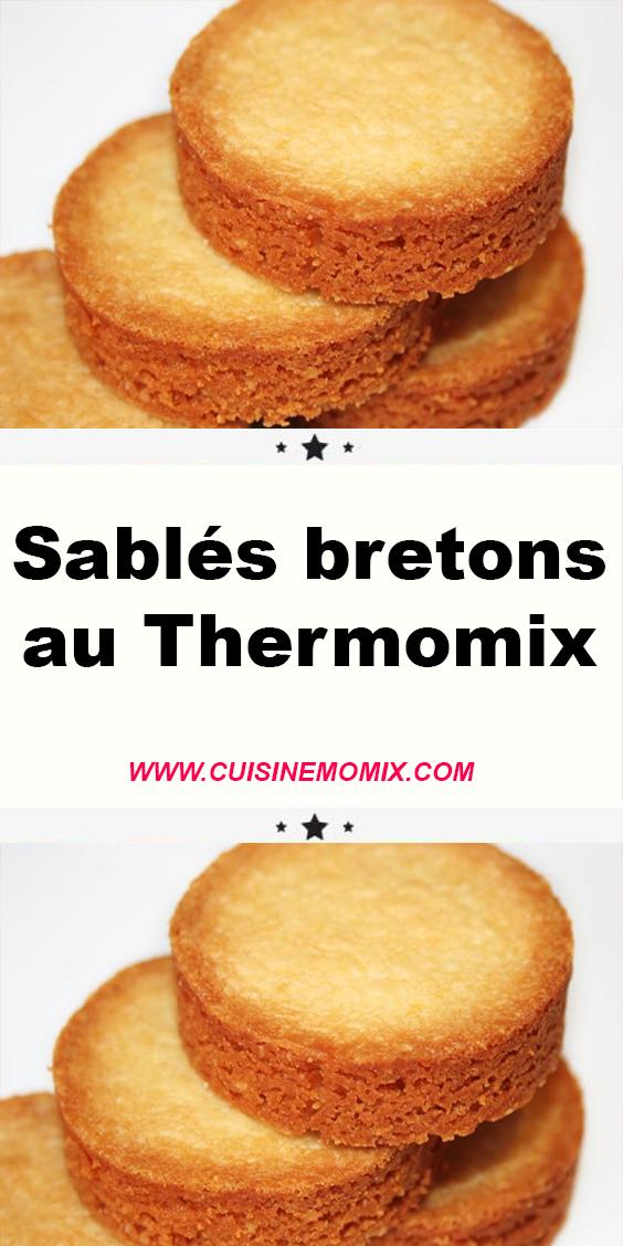 Sablés bretons au Thermomix