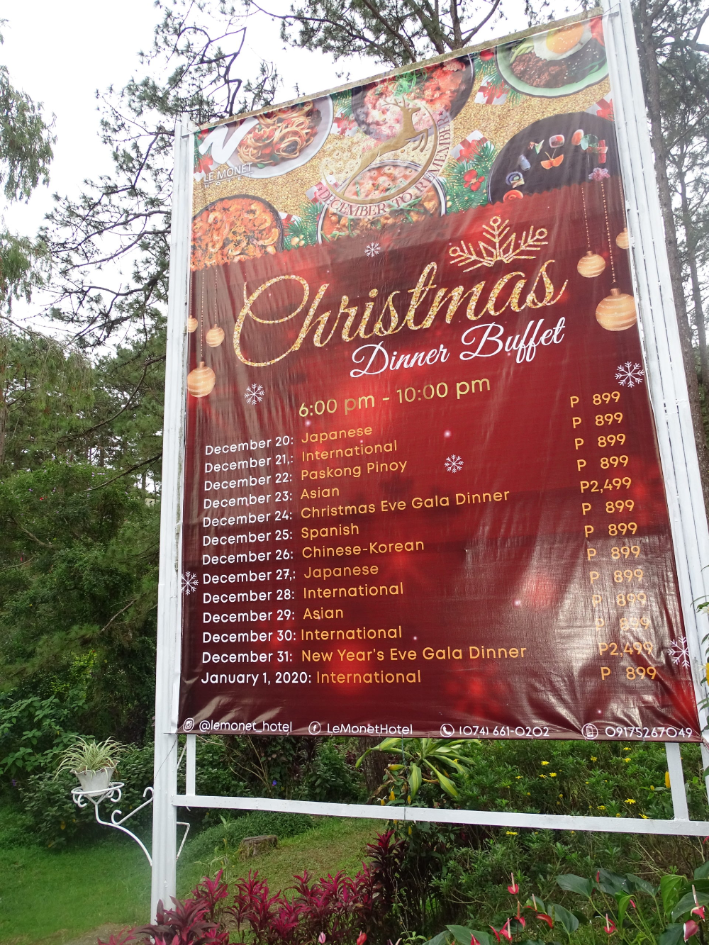 Christmas Gala In The Philippines 2020 CHRISTMAS BREAK IN BAGUIO CITY, PHILIPPINES | BRITISH & FAR EAST