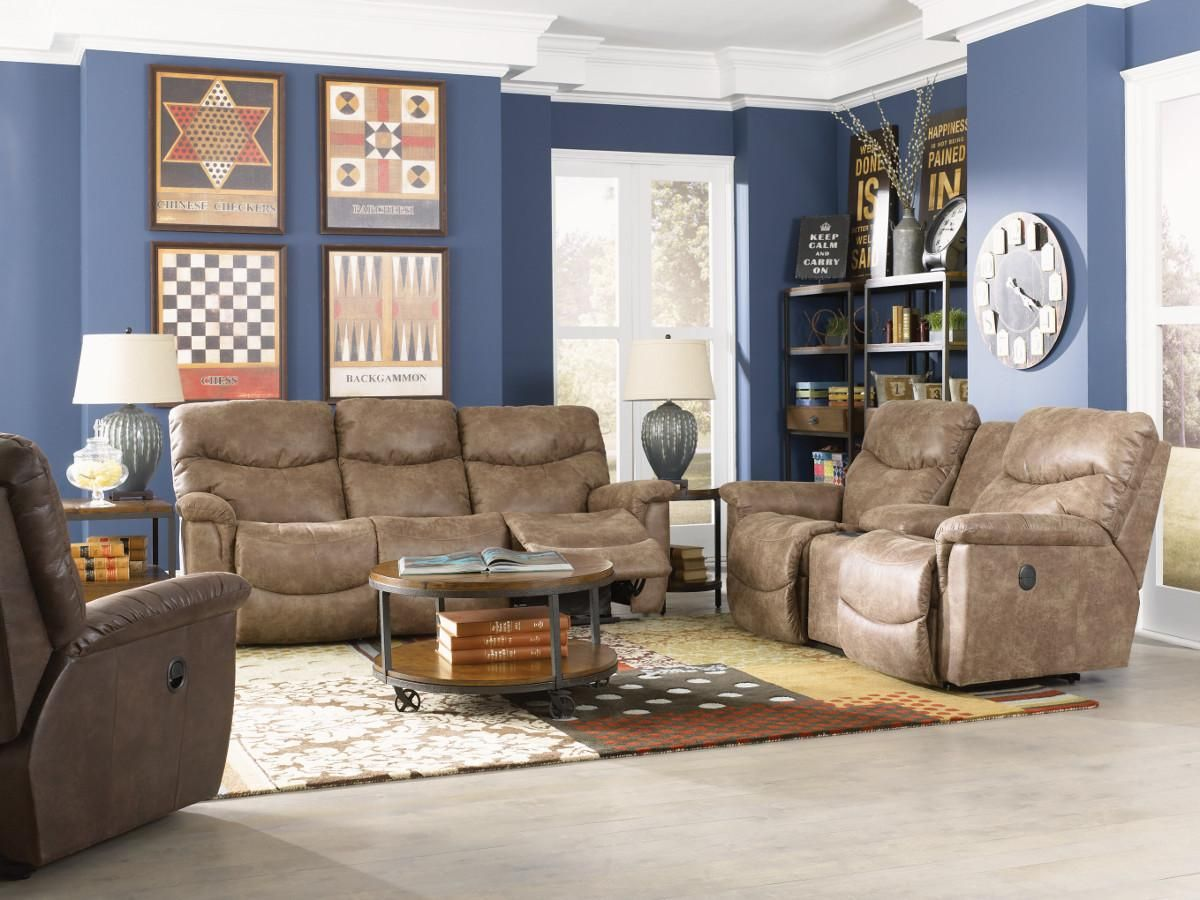 James Reclining Living Room Group by La-Z-Boy | Bungalows & more ...