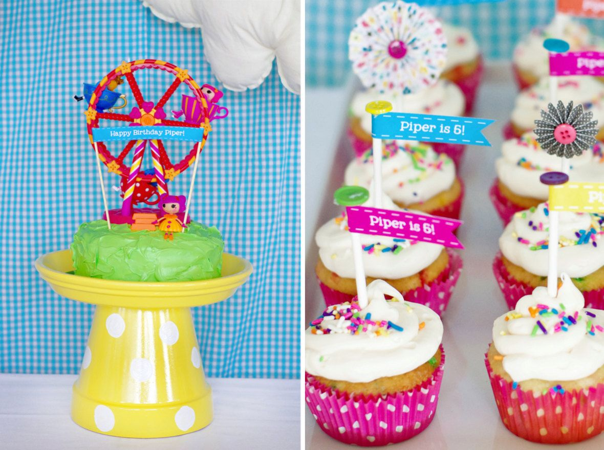 Lalaloopsy Cupcake Toppers Printable Birthday Party Decor ...
