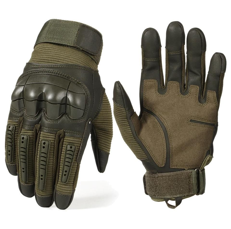Mens Outdoor Gloves Tactical Military Gloves Rock Climbing Rubber Gloves Hot