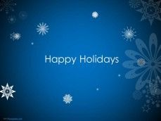 0042 Animated Happy Holidays Ppt Template 1 Happy Holidays Holiday Templates Powerpoint Template Free