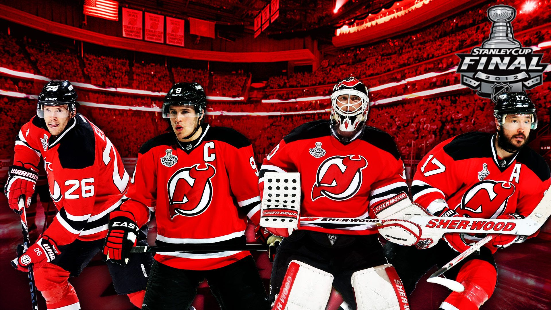 2012 Playoff Central New Jersey Devils New Jersey Sports