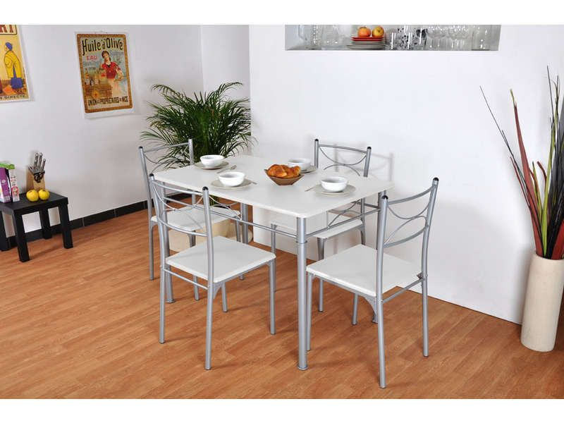 table rectangulaire 4 chaises