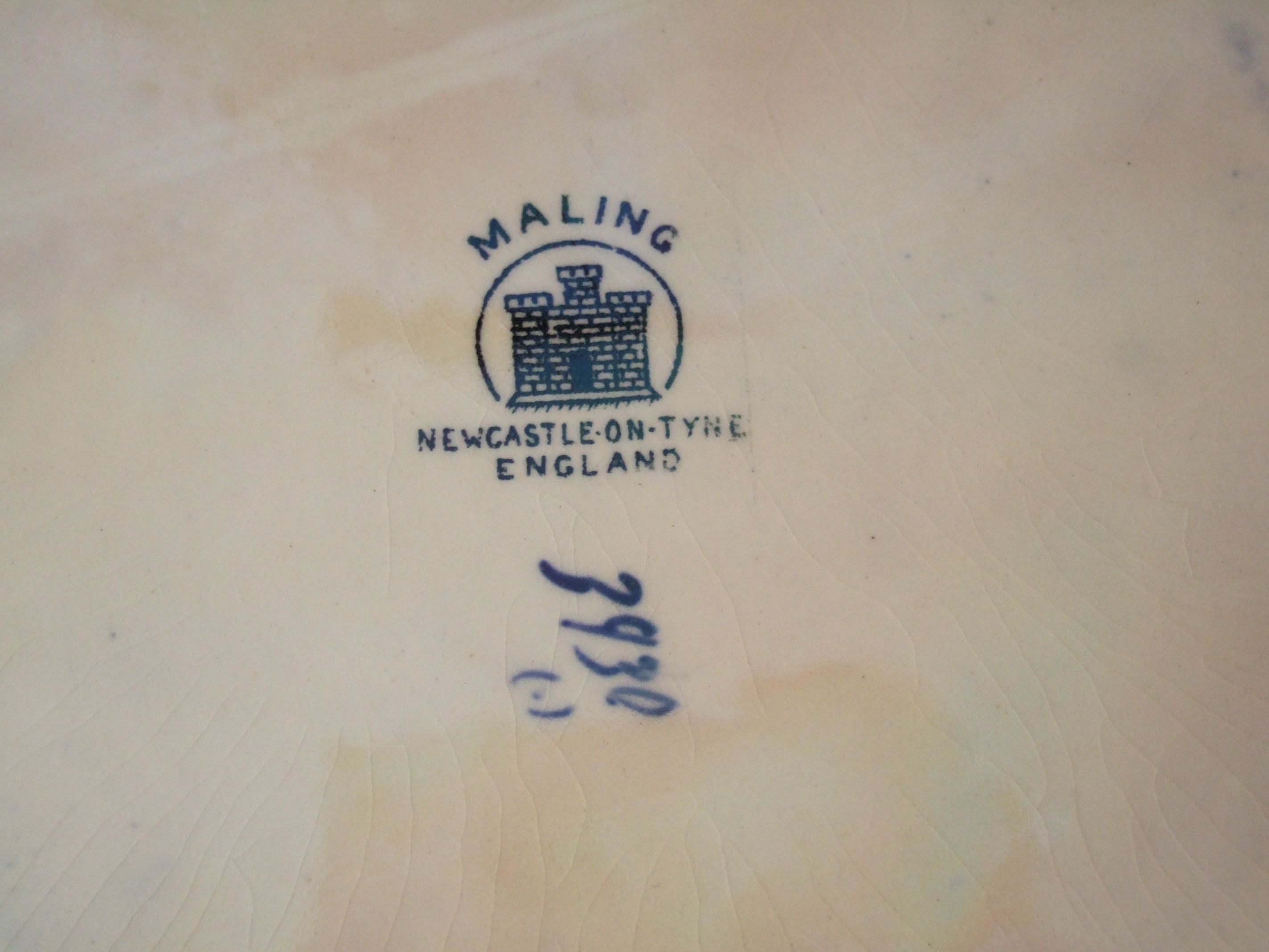 Tattoo name writing designs  maling pottery fantasy windmill pattern bowl octagonal on feet