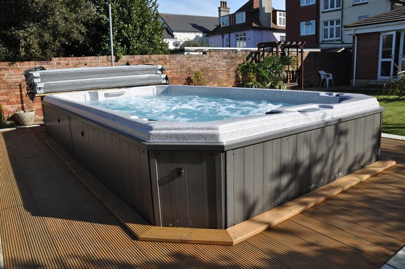 Cover swim spa cover with decking google search deck - Covering a swimming pool with decking ...