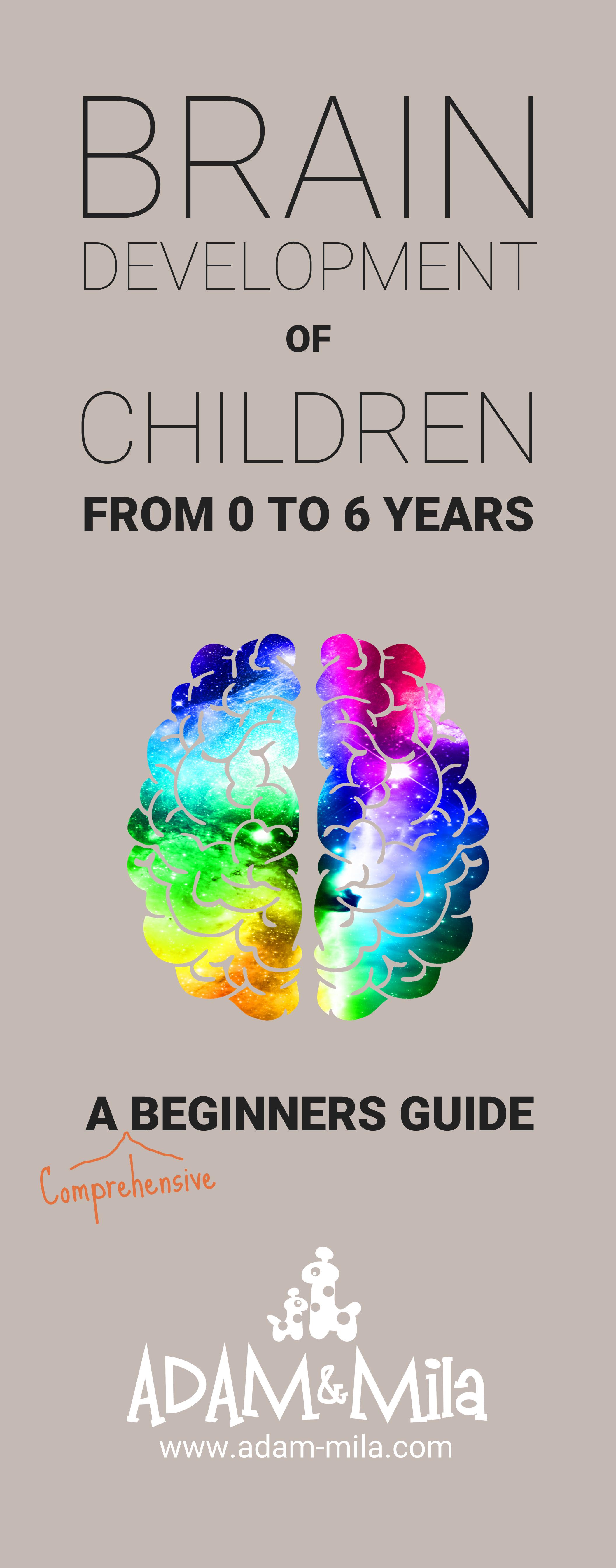 Brain Development Of Children From 0 6 Years