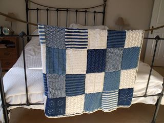 Last night I finished my knitted blanket that I started last November. I can't believe I've actually finished it in under a year, as I left ...