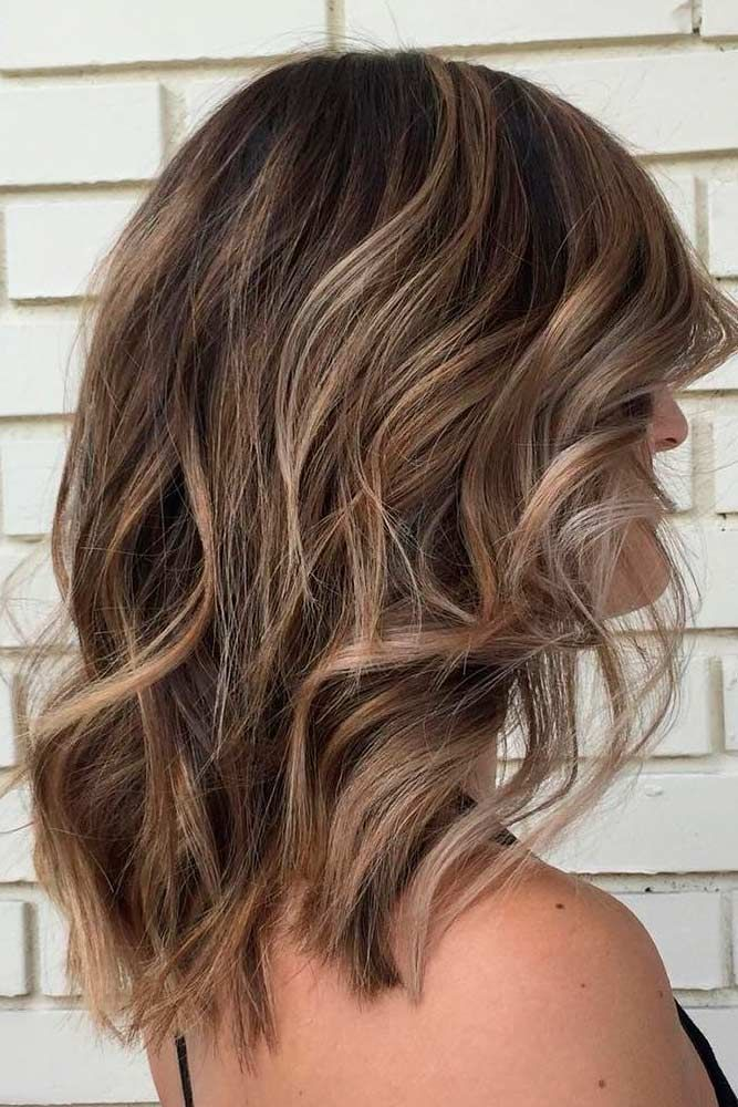 Hairstyles For Shoulder Length Hair Adorable This Is Amazingwhen I See All These Wavy Hairstyles For Medium