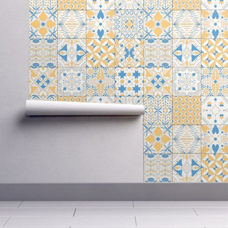 PeelandStick Removable Wallpaper Moroccan Tiles