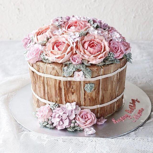Instagram Photo By Wiltoncakes Jun 9 2016 At 8 16pm Utc Flower Pot Cake Garden Cakes Wilton Cake Decorating