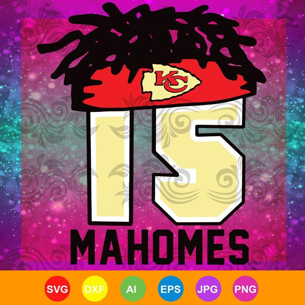 Chiefs Mahomes hair svg, chiefs, mahomes headband, mahomes