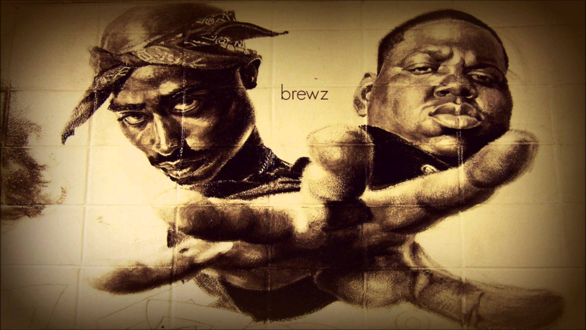 Brewz 2pac And Notorious B I G Coast To Coast Mix Youtube 2pac And Biggie Tupac And Biggie Tupac