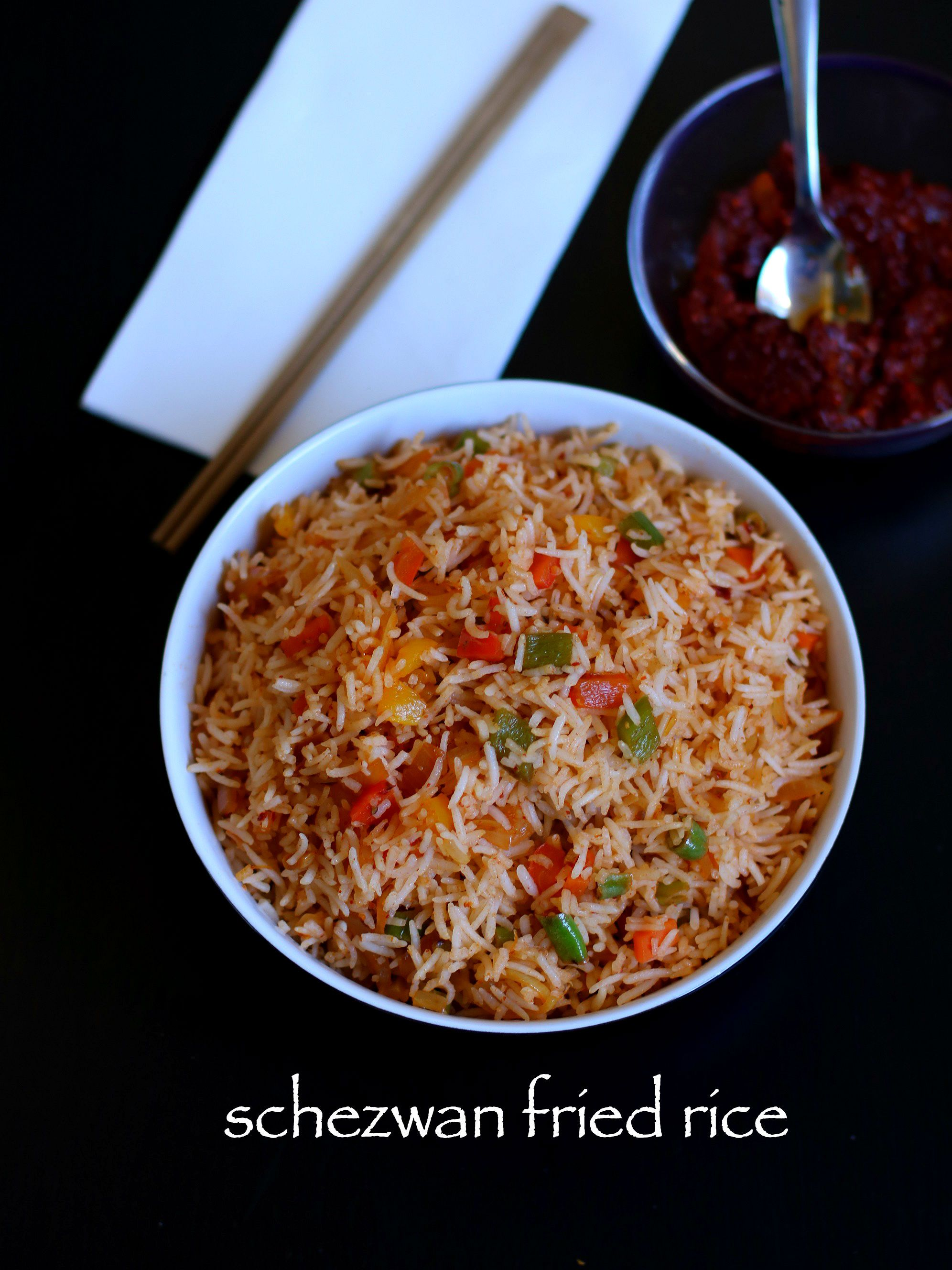 schezwan fried rice 3 | My choice | Pinterest | Fried rice ...