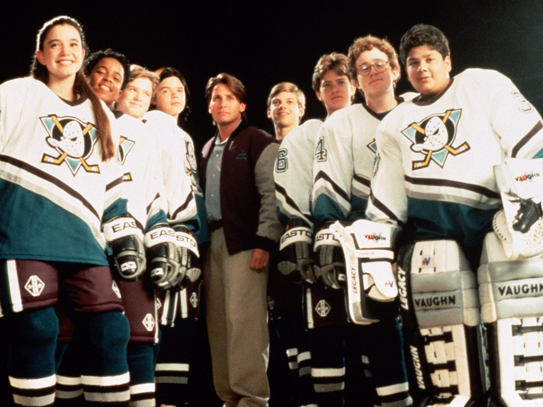 The Mighty Ducks Reboot Is In Development For Disney D2 The Mighty Ducks Sports Movie Duck Dynasty